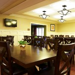 Family dining area